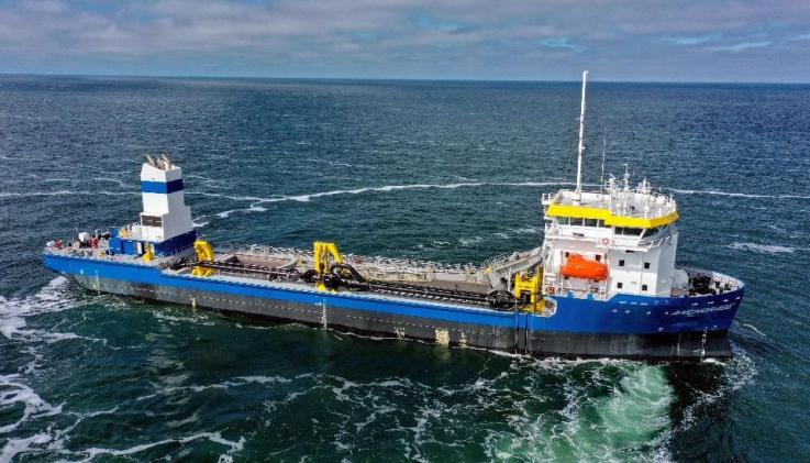 Alewijnse wins electrical fit-out of second TSHD at Thecla Bodewes Shipyards