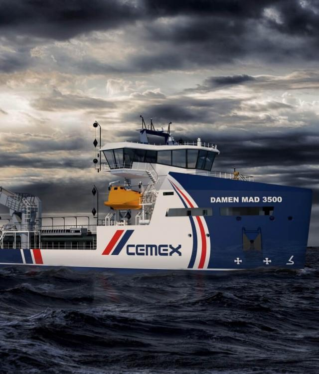 Cemex Go Innovation Dredger